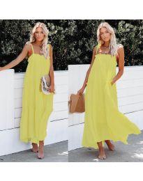 Šaty - kód 551 - žltá