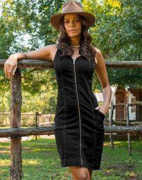 Šaty - kód 7735 - 2 - čierná