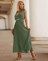 Šaty - kód 5290 - olivová  zelená