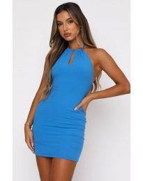 Šaty - kód 11936 - modrá