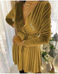 Šaty - kód 8619 - 1 - žltá