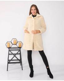 Kabát - kód 1615 - 4 - bežová