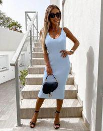 Šaty - kód 2960 - svetlo modrá