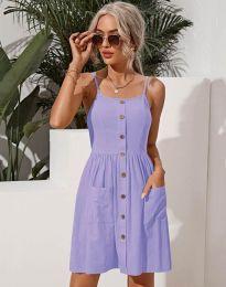 Šaty - kód 6271 - svetlo fialová