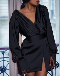Šaty - kód 5324 - čierná