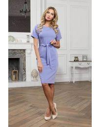 Šaty - kód 3698 - modrý