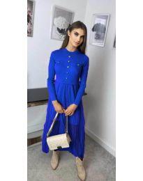Šaty - kód 185 - modrá