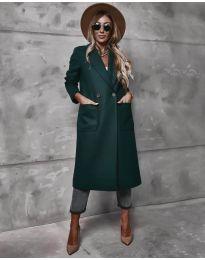 Kabát - kód 9493 - olivová  zelená