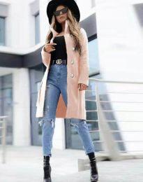 Kabát - kód 2749 - ružová