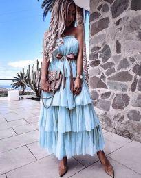Šaty - kód 1543 - modrý