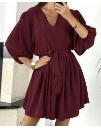 Šaty - kód 6210 - bordeaux
