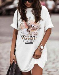 Šaty - kód 3225 - biela