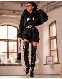 Šaty - kód 9333 - čierná