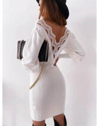 Šaty - kód 1718 - biela