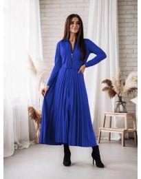 Šaty - kód 1544 - tmavomodrá