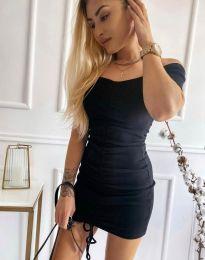 Šaty - kód 6590 - čierná