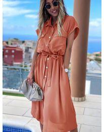 Šaty - kód 0014 - broskvová