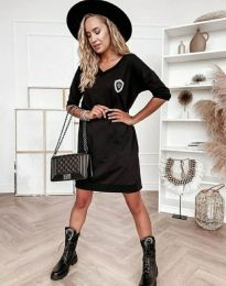 Šaty - kód 7089 - 1 - čierná