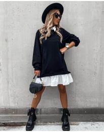 Šaty - kód 5516 - čierná