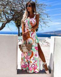 Šaty - kód 0583 - viacfarebné