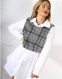 Košeľa - kód 9990 - 4 - biela