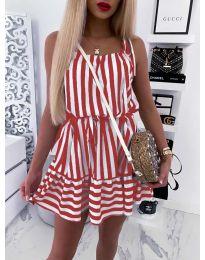 Šaty - kód 851 - červená