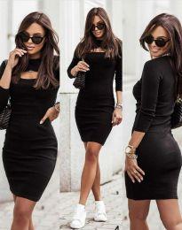 Šaty - kód 7376 - 2 - čierná