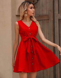 Šaty - kód 8188 - červená