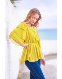 Tričko - kód 504 - žltá