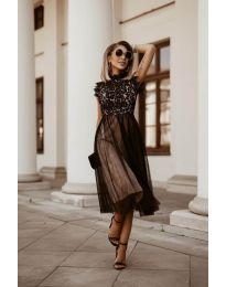 Šaty - kód 8090 - čierná