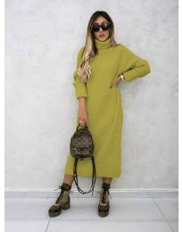 Šaty - kód 0590 - hořčičná