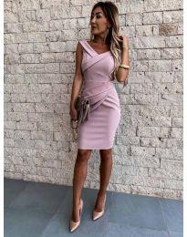 Šaty - kód 1104 - ružová
