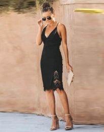 Šaty - kód 4580 - 1 - čierná