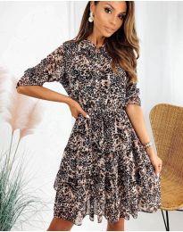 Šaty - kód 8877 - 3 - viacfarebné
