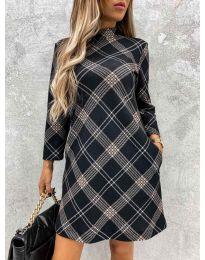 Šaty - kód 9187 - 2 - viacfarebné