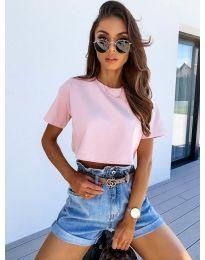 Tričko - kód 608 - ružová