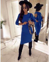 Šaty - kód 5169 - 2 - modrá
