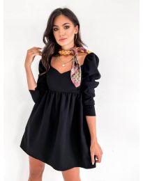 Šaty - kód 390 - čierná