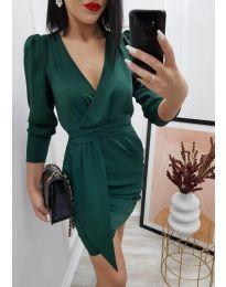 Šaty - kód 0515 - tmavozelená