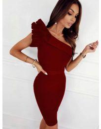 Šaty - kód 2049 - 1 - bordeaux
