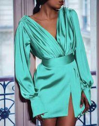 Šaty - kód 5324 - mentolová