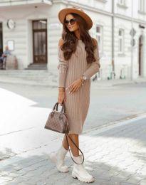 Šaty - kód 8203 - pudrová