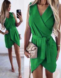 Šaty - kód 7793 - zelená