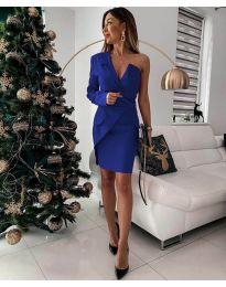 Šaty - kód 15944 - 1 - modrá