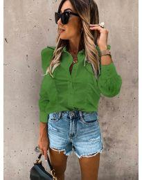 Košeľa - kód 872 - zelená