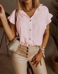 Košeľa - kód 4136 - ružová