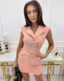 Šaty - kód 9265 - ružová