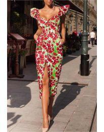 Šaty - kód 4467 - viacfarebné