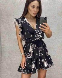 Šaty - kód 8125 - čierná