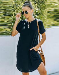 Šaty - kód 38444 - čierná